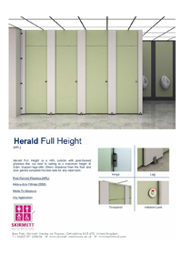 Herald Full Height Cubicle