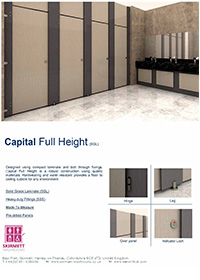 Capital Full Height Cubicle