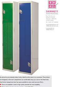 Dry Area -  Z Shape Metal Lockers